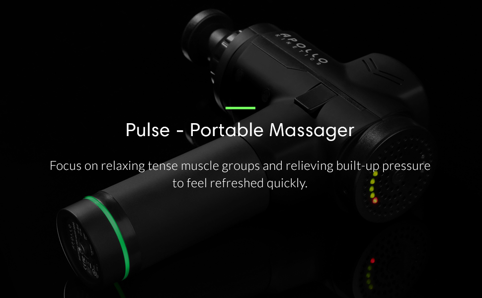Apollo Kinetics Pulse Massage Gun
